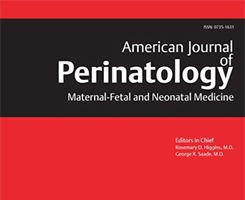 Zeitschriftencover American Journal of Perinatology