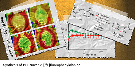 Synthesis of PET tracer 2-[18F]fluorophenylalanine
