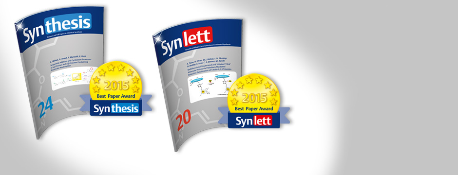 SYNTHESIS-SYNLETT-Best-Paper-Awards