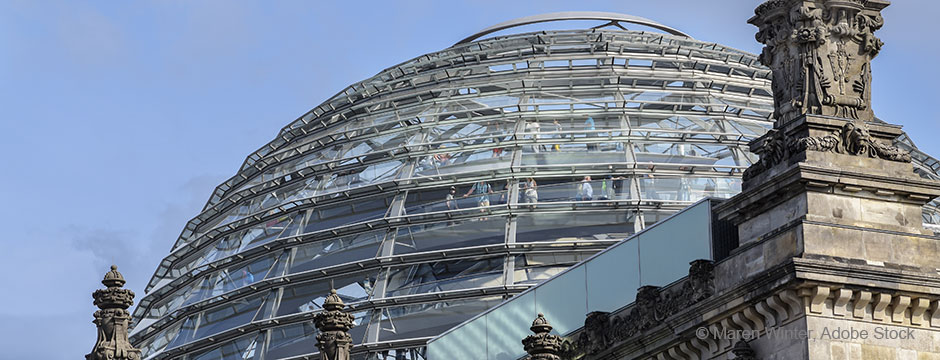 Reichstagsgebaeude © Maren Winter, Adobe Stock