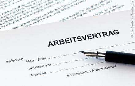 Arbeitsvertrag Physiotherapie Georg Thieme Verlag