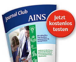 Journal Club AINS - Probeheft bestellen
