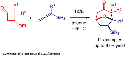 Synthesis of 8-oxabicyclo[3.2.1]octanes