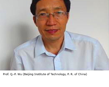 Prof. Q.-P. Wu (Beijing Institute of Technology, P. R. of China)