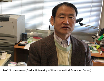 Prof. S. Harusawa (Osaka University of Pharmaceutical Sciences, Japan)