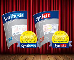 Win the SYNTHESIS/SYNLETT Best Paper Awards 2018!