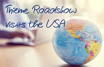 Thieme Roadshow in the USA
