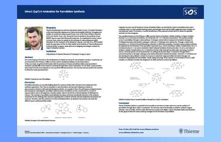 Case Study: Direct C(sp3)-H Amination for Pyrrolidine Synthesis