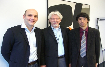 Professor Benjamin List, Dr. Joe Richmond, Professor Keiji Maruoka