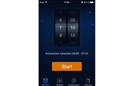 Screenshot App Sleep Cycle