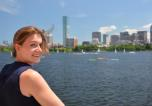 Franziska Ippen in Boston - Foto: F. Ippen